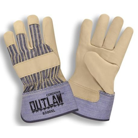 Cordova™ Outlaw™ 8300/M Leather Palm Gloves