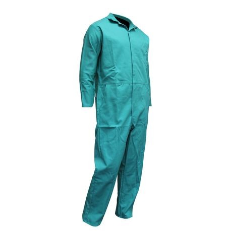 Chicago Protective Apparel 605GR/S Flame-Resistant Coverall