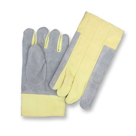 "Chicago Protective Apparel FA-234KV 14"" Para-Aramid Blend and Leather Combo High Heat Gloves"