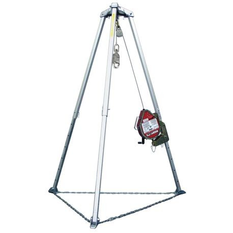 Honeywell Miller MightEvac® Stainless Steel Wire Rope Complete Confined Space Systems
