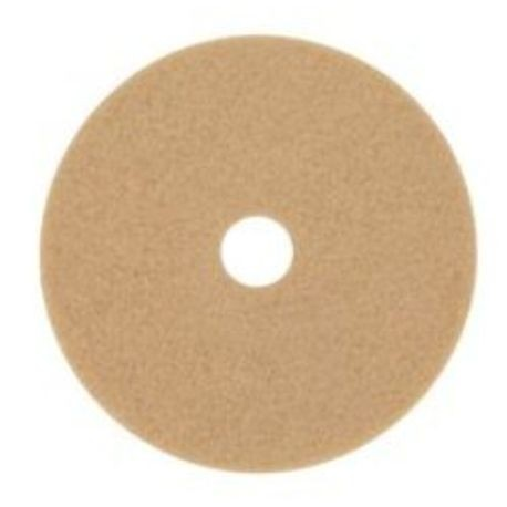 "3M® 24"" Natural Blend Tan Burnishing Floor Pad (3500)"