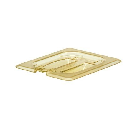 Cambro® Amber H-Pan Notched 1/8 Cover (80HPCHN150)