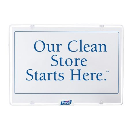 """Our Clean Store"" Sign"