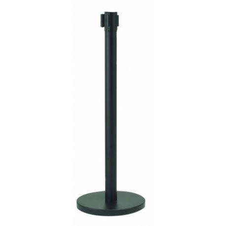 "AARCO® 40"" Black Stanchion (HBK-10)"
