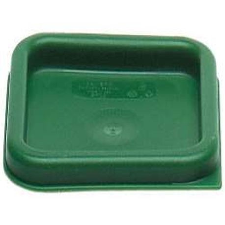 Cambro® CamSquares® Kelly Green Polyethylene Cover Lid For 2 QT & 4 QT Food Storage Containers (SFC2452)