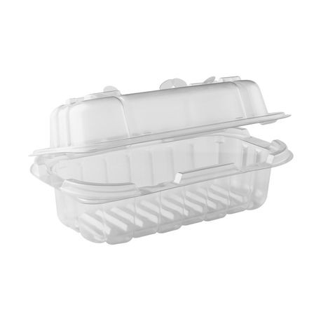 Anchor Packaging® Crisp Food Technologies® Fry Baby™ 7.5″ x 4.5″ Clear Hinged Container (4666311)