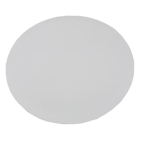 "12"" Bright White Circle Cake Pads"
