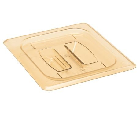 Cambro® Amber H-Pan 1/6 Cover with Handle (60HPCH150)