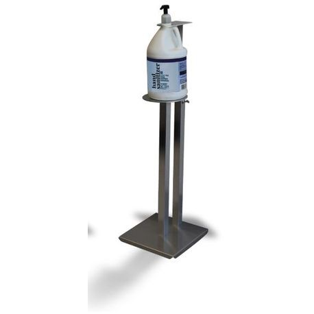 "Advance Tabco® Metal Stand for Gallon Sized Hand Sanitizer 24"" Tall (SST-24-X)"