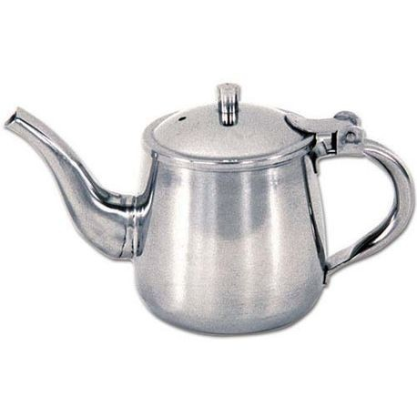 Admiral Craft® Stainless Steel 10 oz Gooseneck Teapot (GNP-10)