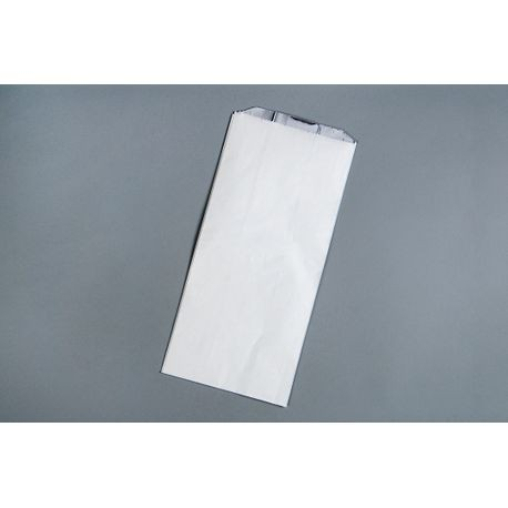 "Brown Paper Goods® Foil Thermal Pinch Bottom White 6.5"" x 4.375"" x 14"" Bag (5B18)"