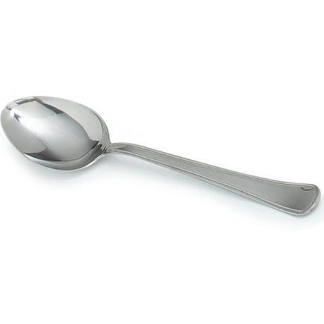 "Carlisle® Aria 12"" Solid Heavy Duty Stainless Steel Serving Spoon (609001)"