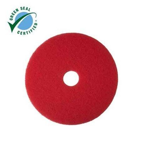 "3M® Red 12"" Buffer Floor Pad  (7000000676)"