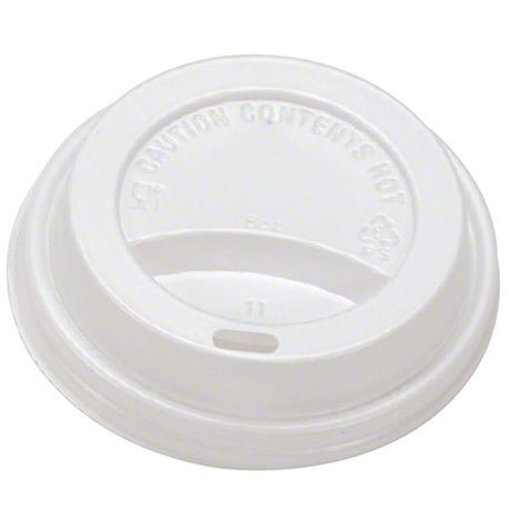 8 oz White Hot Cup Lid (PHCLID-D80W)
