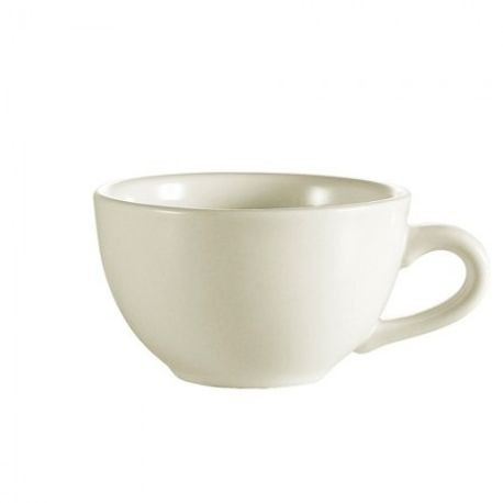 "CAC® White 7 oz Coffee Cup 3.75"" Wide (NRC-1)"