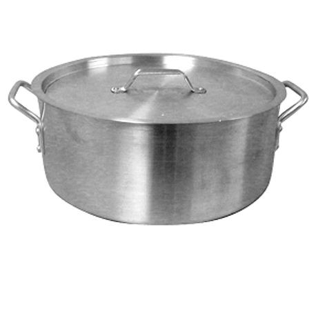 Aluminum 24 QT Brazier with Cover
