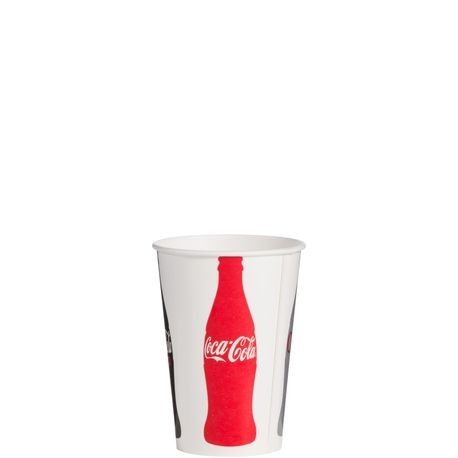 16 oz Poly Lined Coke® Cup