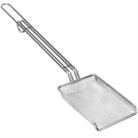 "4"" x 6"" Fryer Scoop and Skimmer"