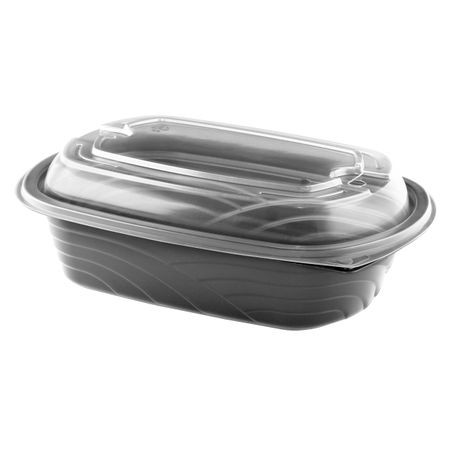 Anchor Packaging® Microraves™ 32 oz Wave Container and Dome Lid Combo Pack (4113203)