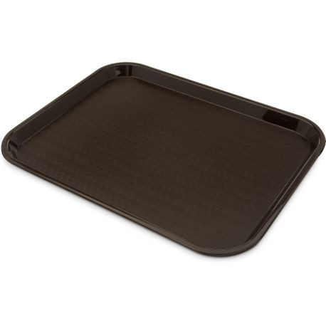 "Carlisle® Brown 14"" x 18"" Cafeteria Tray (CT1418)"
