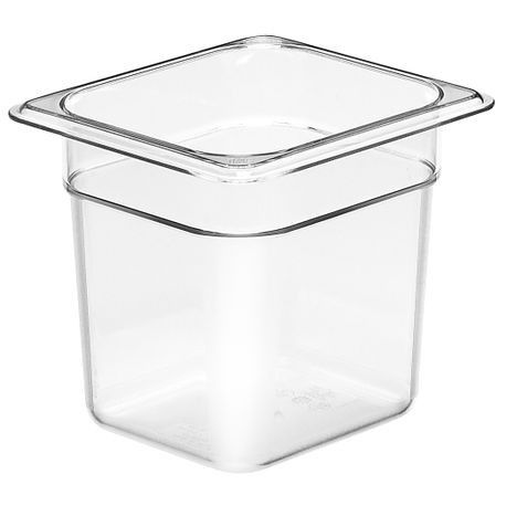 "Cambro® Camwear™ Cold Food 1/6 Size Pan 6"" Deep (66CW135)"