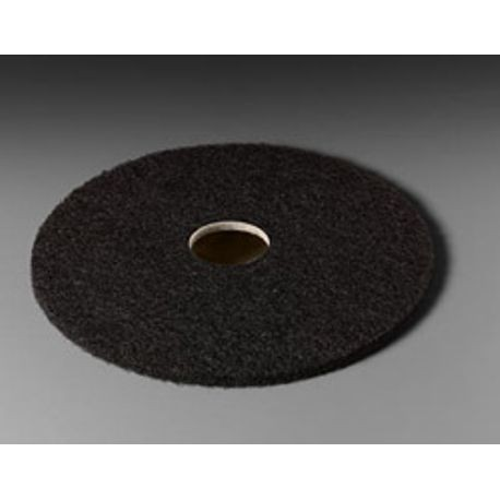 "3M® 17"" Black Stripper Floor Pad (7200)"