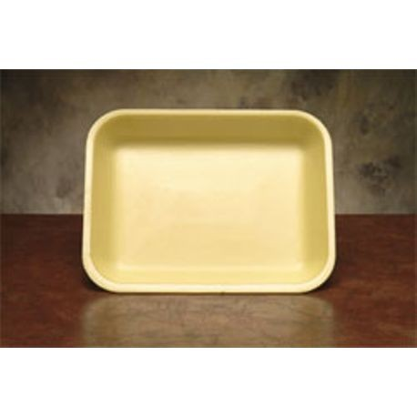 "17S Yellow 8.25"" x 4.75"" x .5"" Foam Tray (1017SYW)"