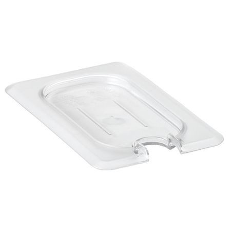 Cambro® Camwear™ Clear 1/9 Notched Cover Food Pan Lids (90CWCN135)