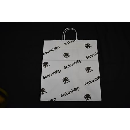 "Bakeshop 14"" x 10"" x 15"" Paper Shopping Bag"