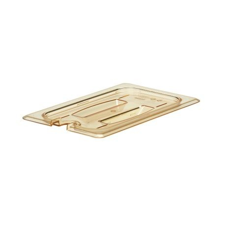 Cambro® Amber H-Pan Notched 1/4 Cover (40HPCHN150)