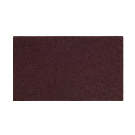 "3M® Scotch-Brite™ Maroon 14"" x 20"" Surface Prep Floor Pad (7000052694)"