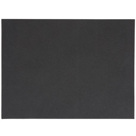 "Black 12"" x 9"" Steak Paper (5141)"