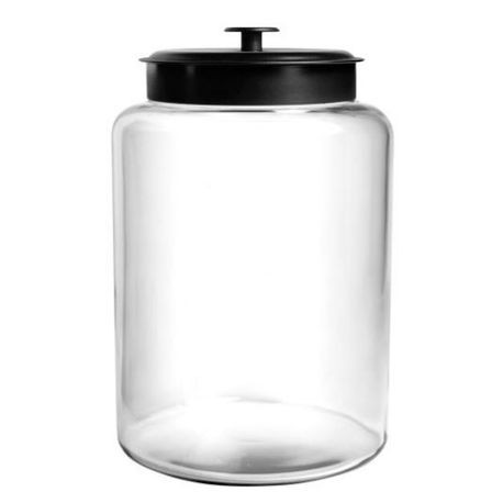 Anchor Hocking Montana™ Jar 2.5 Gallon with Black Metal Lid (88908)