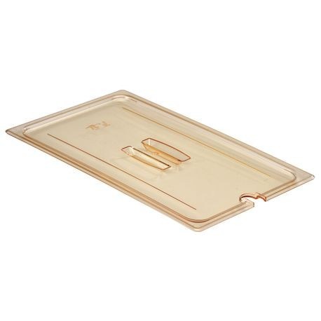 Cambro® Full Size Notched Cover Amber (10HPCHN150)