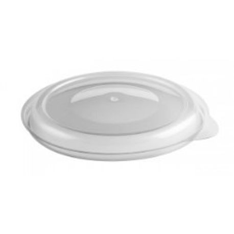 "Anchor Packaging® Incredi-Bowl® Clear 6"" Round Vented Lids (LH5800D )"