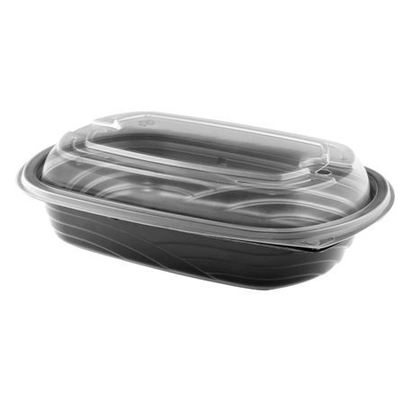 Anchor Packaging® MicroRaves® 24 oz WAVE Container with Clear Dome Lid (4112403)