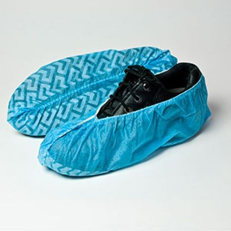 Blue Non Skid Universal Size Shoe Cover (RSC150-NS)