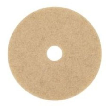 "3M® 19"" Natural Blend Tan Floor Pad (3500)"