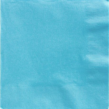 Caribbean Blue 2-Ply Dinner Napkins