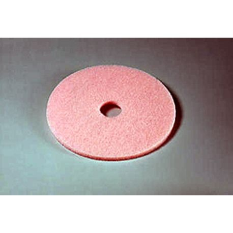 "3M® 27"" Eraser Pink Burnish Floor Pad (3600)"