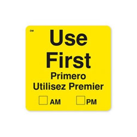 "2"" x 2""  DM 250 ""Use First"" Labels (112439)"