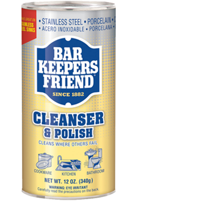 Bar Keepers Friend® 12 oz Cleanser & Polish Powder (11510)