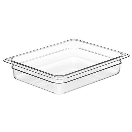 "Cambro® Camwear™ Cold Food 1/2 Size Pan 2"" Deep (22CW135)"