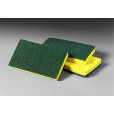 "3M® Medium Duty 3.6"" x 6.1"" Scrubbing Sponge (74)"