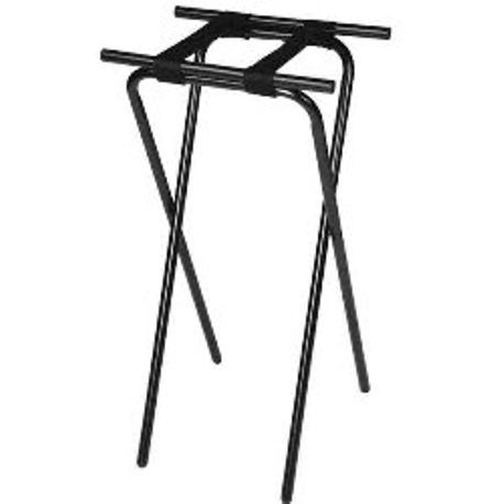 """Back-Saver"" Extra Tall Deluxe Steel Tray Stand (1036BL)"