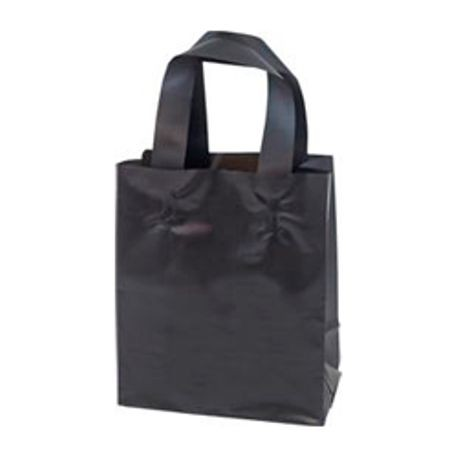 "Black Frosted Shopper 8"" x 4"" x 10"" (810-UTB)"