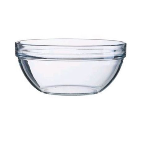 Arc Cardinal® Arcoroc® Clear 64 oz Stackable Glass Serving Bowls (E5618)