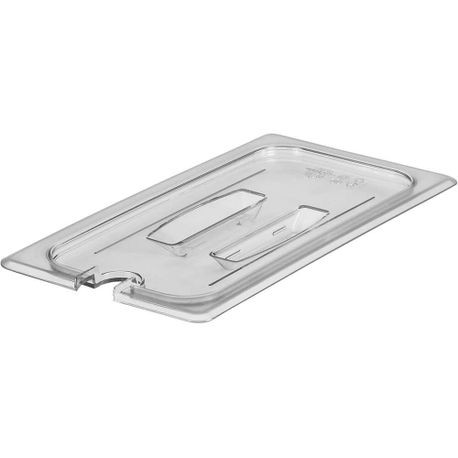 Cambro® Camwear™ 1/3 Pan Notched Lid Cover Lid (30CWCHN135)