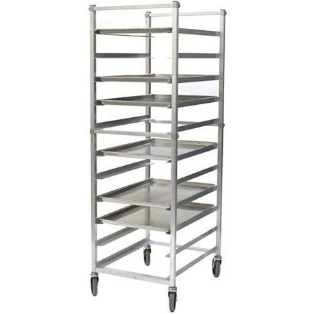 "Eagle Bun Pan Rack with 6"" Casters"