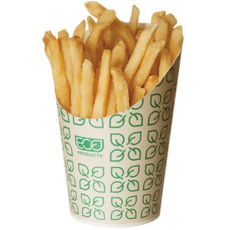 Eco-Products® Large 5.5 oz French Fry Scoop/Cup (EP-FFLRG)